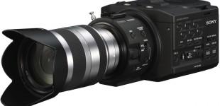 Testing the new Sony FS100E