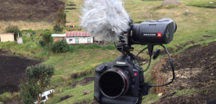 The Canon 1DC and Kinotehnik EVF