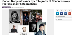 Official Canon Norway Photographer